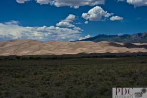Sand Dunes National Park in Alamosa County Colorado