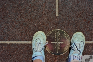 I'm standing in four states at one time! :)