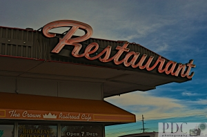 If I was Guy Fieri I'd visit this place.  A real Diner, Drive-in and Dive!  Great Burgers!