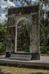 Arch monument at Bonaventure