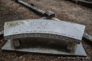 Johnny Mercer memorial bench
