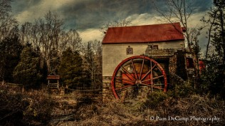 Old Mill of Guilford, NC after On1 Effects